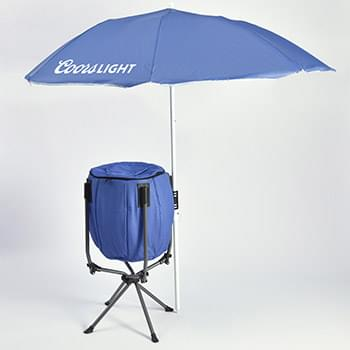 Party Cooler w/Umbrella