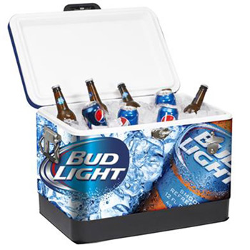 54 Quart Steel Cooler