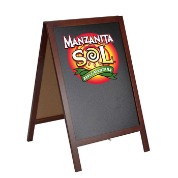 A Frame Menu Board