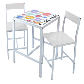Indoor High Bar Table And Chair Set