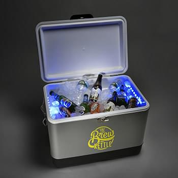 54QT. LED Cooler