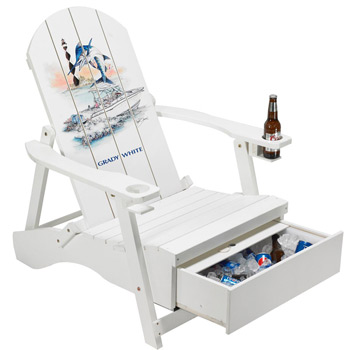 Adirondack Chair with Cooler